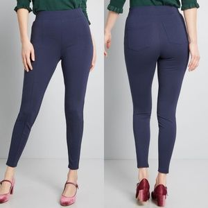 Let's Jet Set Ponte Pants - Modcloth, XL